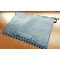 Кожаный чехол MacBook Pro 15 Retina 2012-16 (син)