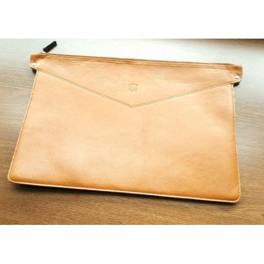 Кожаный чехол MacBook Pro 15 Retina 2012-16 (кор)