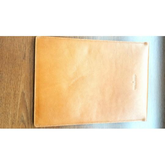 Чехол кожаный MacBook 12 (коричневый)