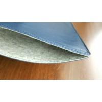 Чехол кожаный MacBook 12 (синий)
